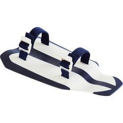 Zwempaddles Easystroke Nabaiji wit/donkerblauw