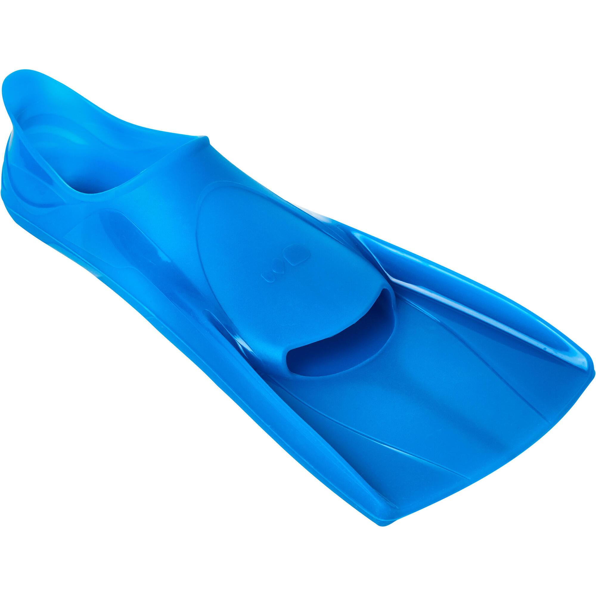 palmes natation courtes silifins ii bleu nabaiji. Black Bedroom Furniture Sets. Home Design Ideas