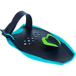 Zwempaddles Quick'In S blauw groen