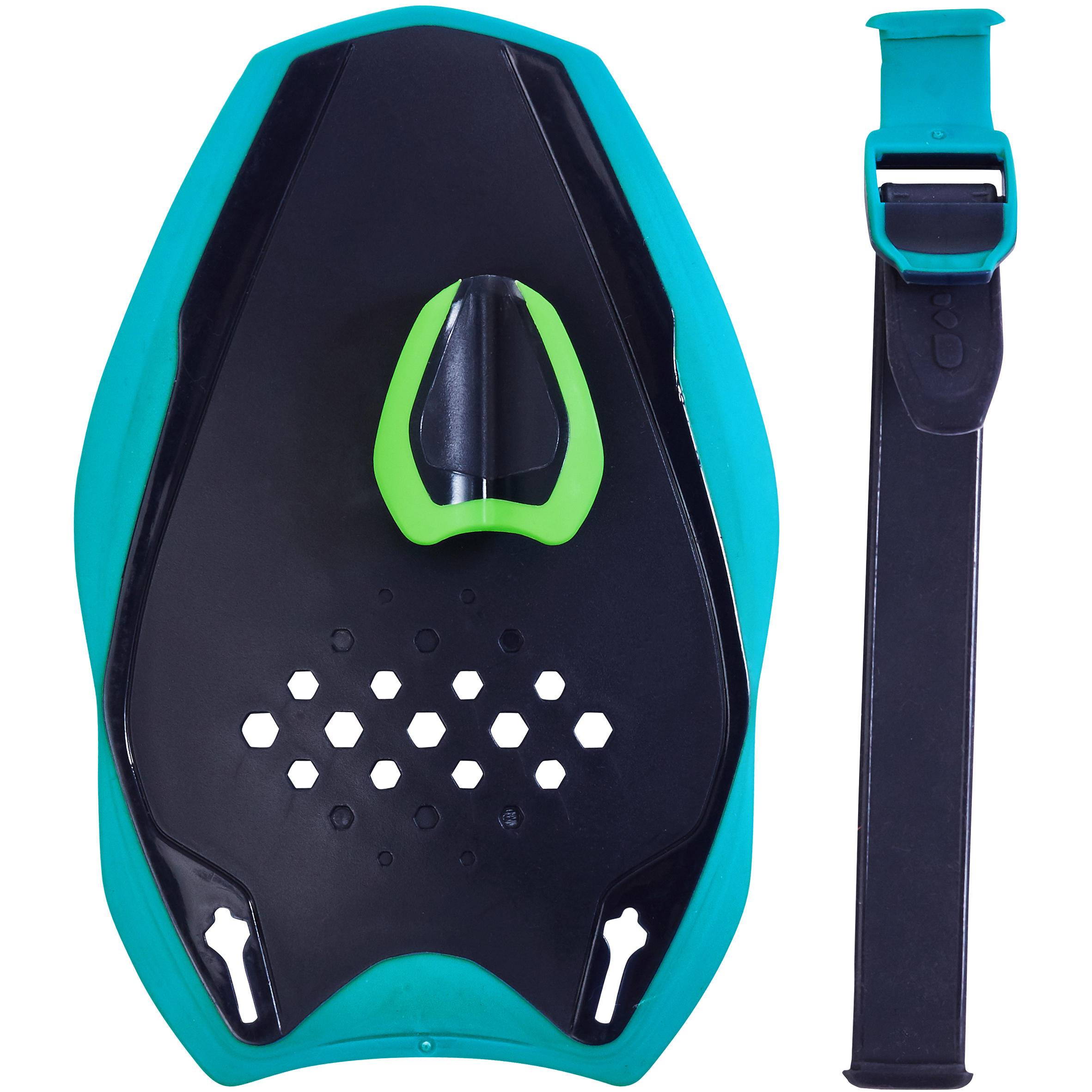 QUICK'IN Swimming Hand Paddles S - Blue Green