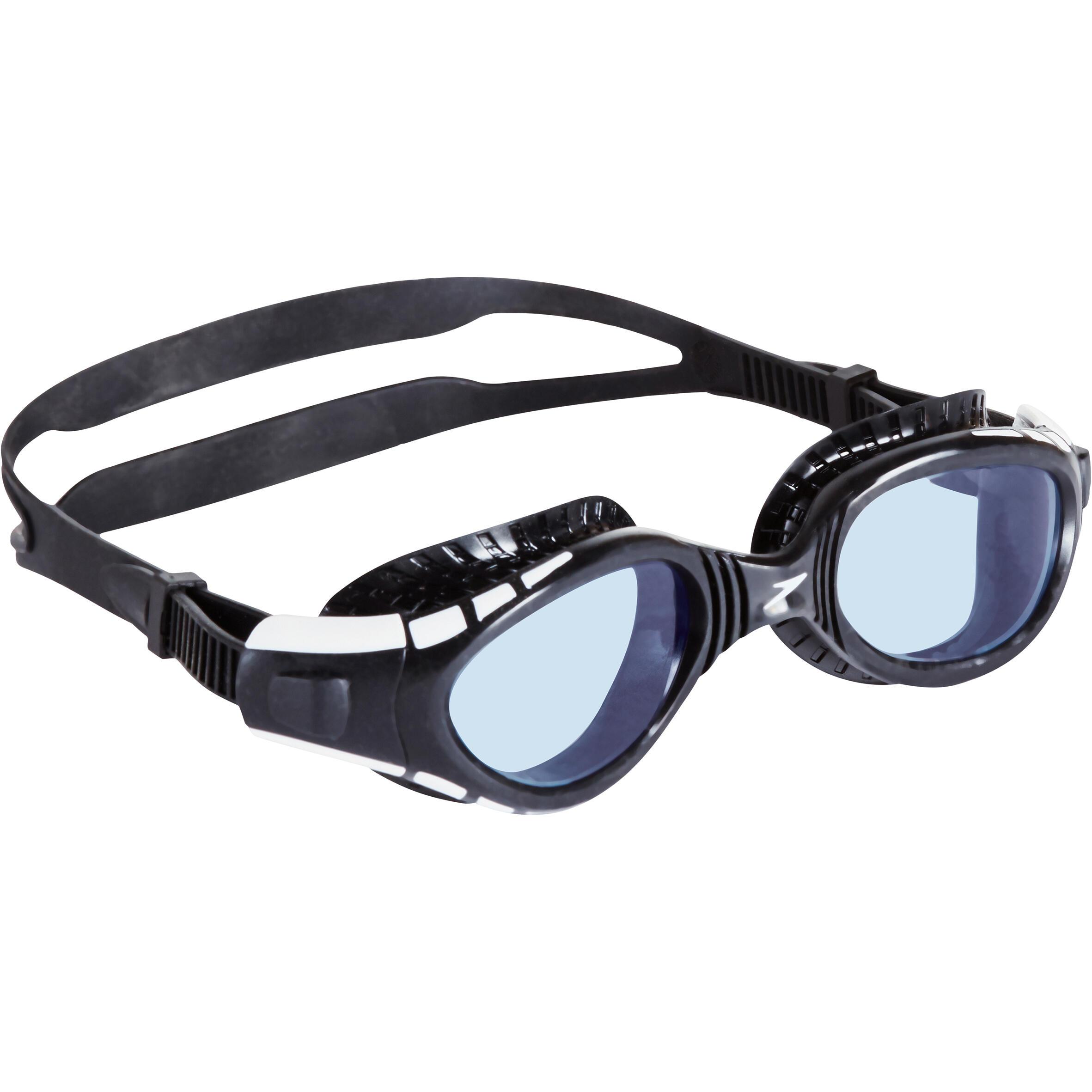2b91c9a3a25a10 Speedo Zwembril Futura BioFuse Flexiseal getint zwart | Decathlon.nl