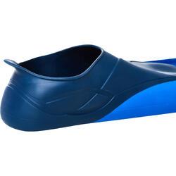 Lange zwemvliezen Trainfins 500 blauw