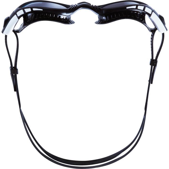 Zwembrilletje Futura Biofuse Flexiseal getint zwart