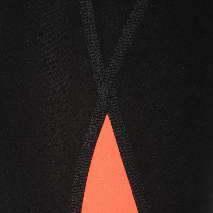 Schwimmanzug Wettkampf Fina Damen orange/schwarz