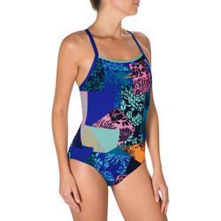 Maillot de bain natation une pièce ultra résistant au chlore femme Jade