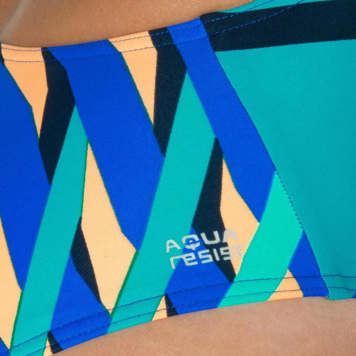 Maillot de bain de natation une pièce femme résistant au chlore Lidia bleu navy - 1224641