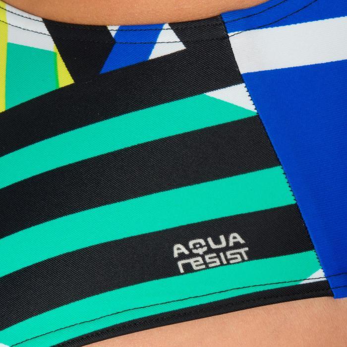 Maillot de bain de natation une pièce femme résistant au chlore Lidia bleu navy - 1224652