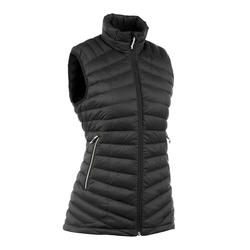 Women's Mountain Trekking Sleeveless Down Jacket Trek 100 - black
