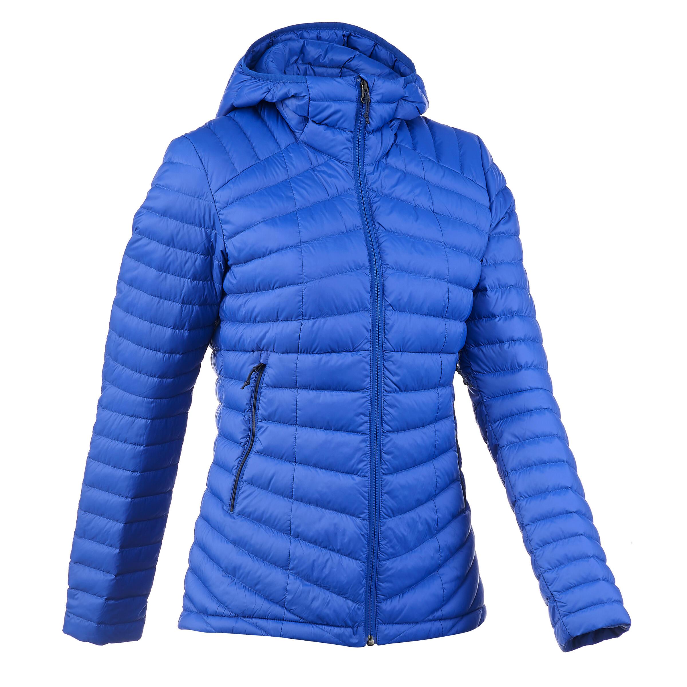 Marine Doudoune Bleu Trek500 Femme Trekking Montagne VUqSzMpG