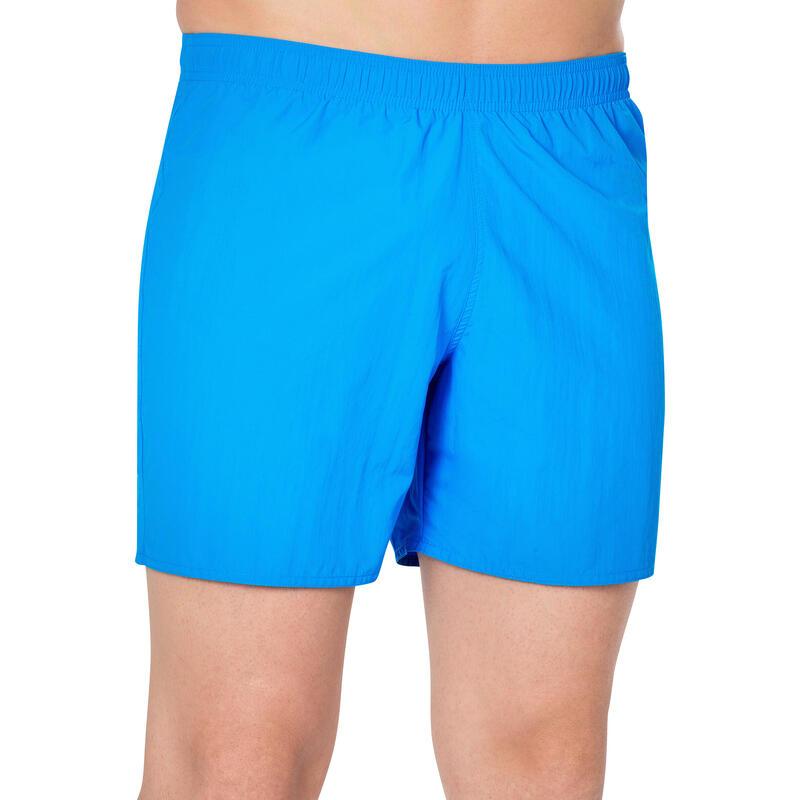 Șort Înot 100 Basic Albastru Bărbați