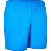 MEN'S SWIM SHORTS 100 BASIC - BLUE