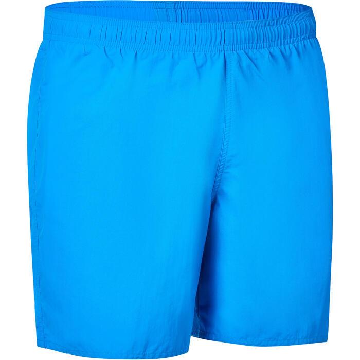 Bañador Natación Nabaiji Swimshort 100 Hombre Azul