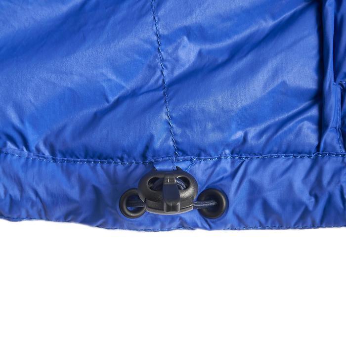 Abrigo Chaqueta Plumón Montaña y Trekking TREK100 down Acolchada Mujer Azul