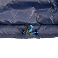 Donsjas voor bergtrekking dames Trek 100 marineblauw