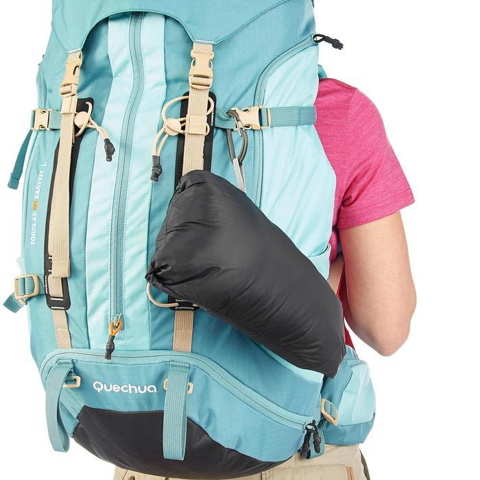 Chaleco Acolchado de Montaña y Trekking Forclaz TREK 500 Mujer Negro