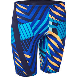 Men Swimming jammer shorts - Blue orange