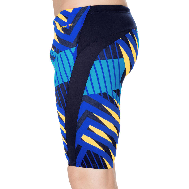 Men Swimming jammer shorts - Blue orange