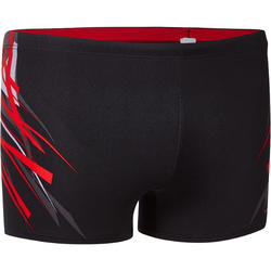 Men swimming trunk b-fit- red