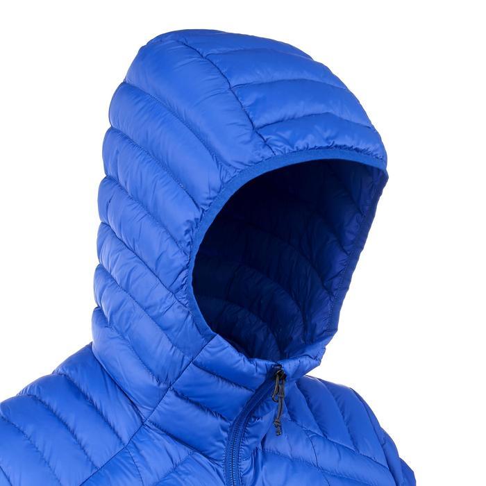 Doudoune trekking montagne TREK 100 Duvet femme bleu