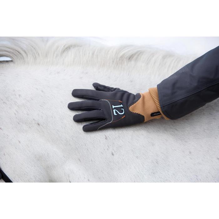 Gants chauds équitation enfant EASYWEAR - 1224836