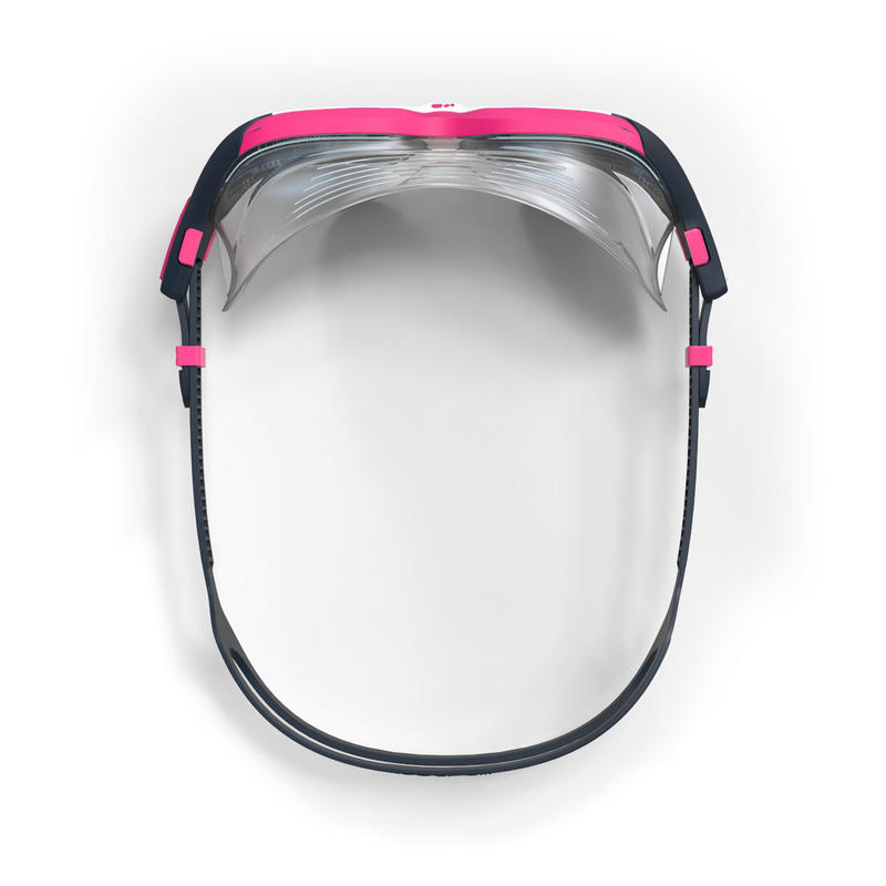 Máscara de natación ACTIVE Talla S blanco rosada