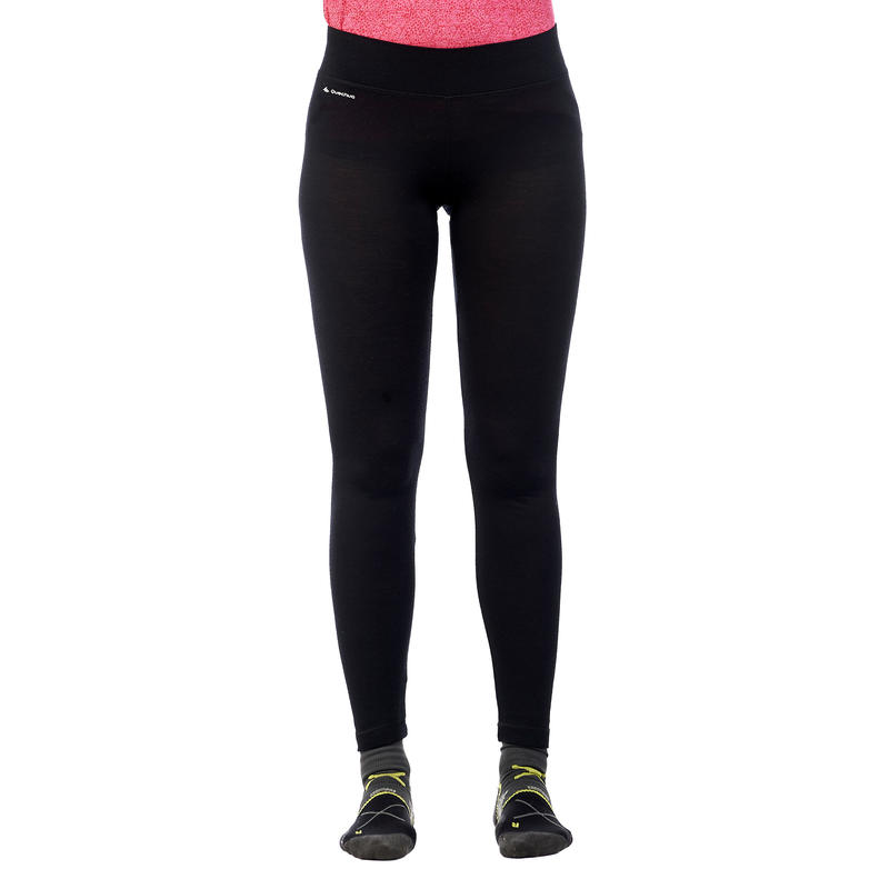 Techwool 190 Trekking Wool Tights Female - Black