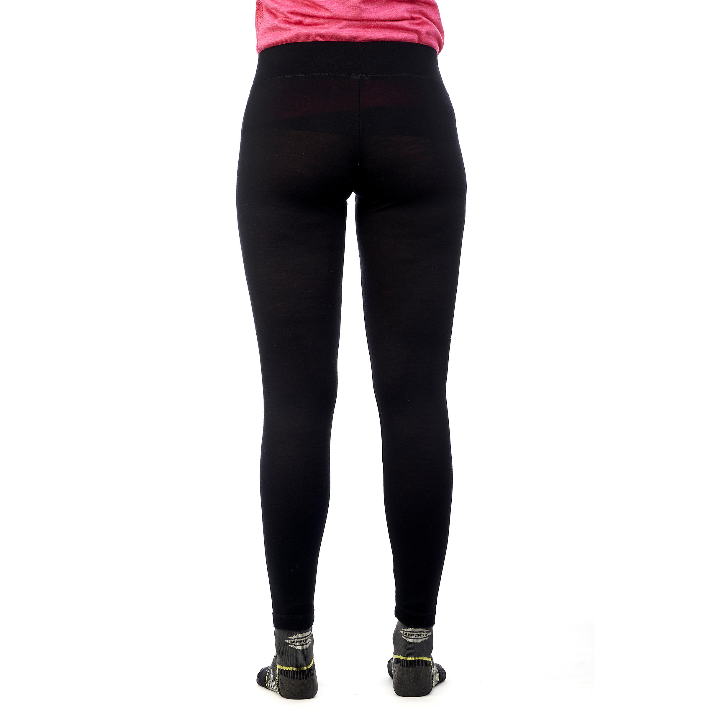 TECHWOOL 190 Women's Mountain Trekking Tights - Black