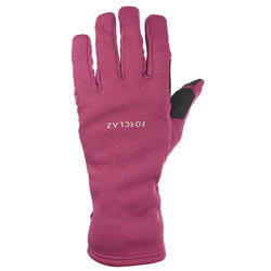 Adult Mountain Trekking Gloves TREK 500 - Purple