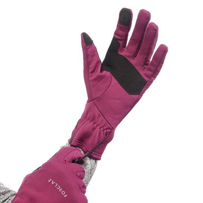 Handschuhe Trek 500 Erwachsene violett