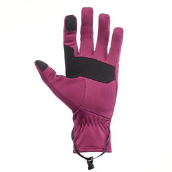 Gants randonnée en montagne RANDO 500 adulte violet