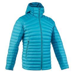 Trek500 Men's Mountain Trekking Down Jacket - Turquoise