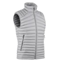 Mountain TREKKING TREK 500 men's padded sleeveless gilet, grey