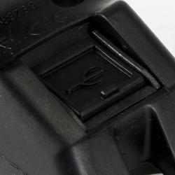 Fietslamp VIOO 300 USB zwart - 122517