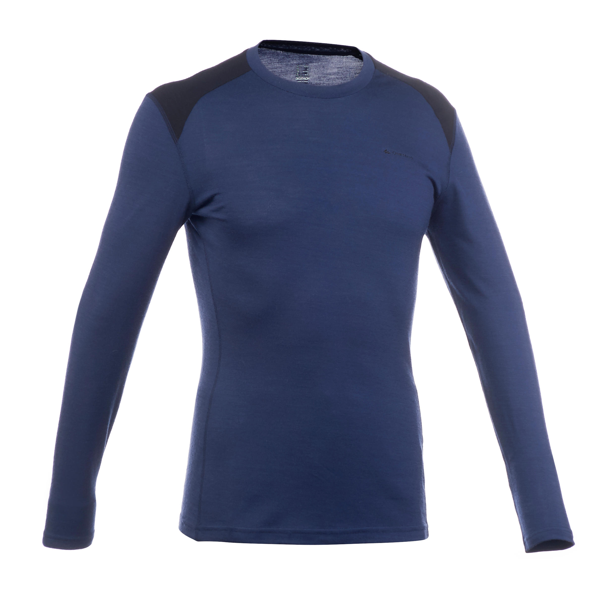 TechWOOL 190 Men's Long-sleeved Trekking Shirt - Navy Blue