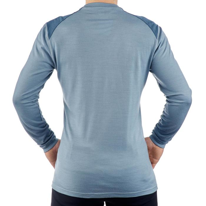 T- Shirt manches longues TREKKING montagne TECHWOOL 190 homme - 1225260