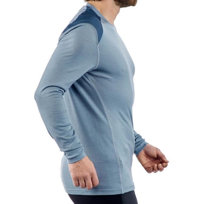 T- Shirt manches longues TREKKING montagne TECHWOOL 190 homme - 1225262
