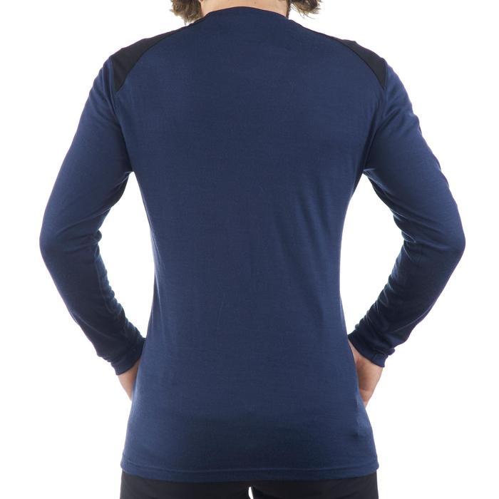 T- Shirt manches longues TREKKING montagne TECHWOOL 190 homme - 1225265