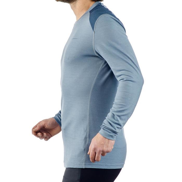 T- Shirt manches longues TREKKING montagne TECHWOOL 190 homme - 1225266