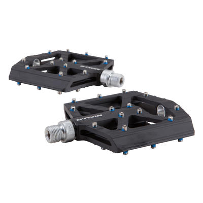 Mountain Bike Aluminium Freeride Pedals - Black