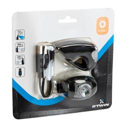 Fietslamp VIOO 300 USB zwart - 122533