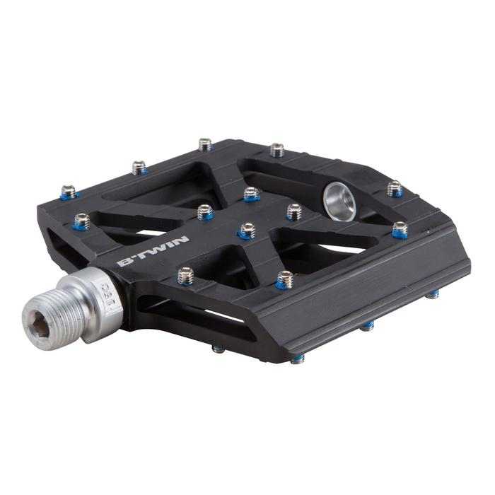 Freeride-Pedale MTB Aluminium schwarz