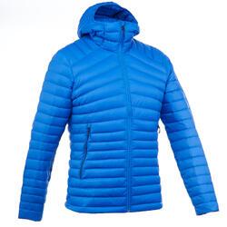 Doudoune trekking montagne TREK 100 Down homme bleu