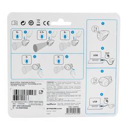 Fietslamp VIOO 300 USB zwart - 122536