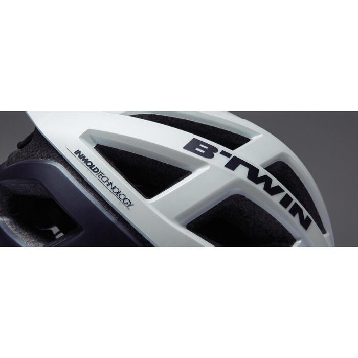 Fietshelm Aerofit 900 wit/zwart