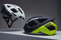 Racer Cycling Helmet - Black/Neon Yellow