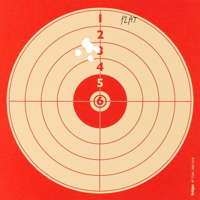 Luftgewehrkugeln flacher Kopf Diabolo 4,5 mm 500 Stück