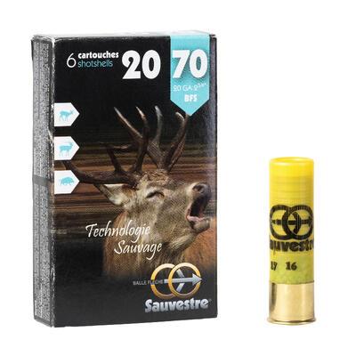 Balle flèche Sauvestre calibre 20/70 X 6