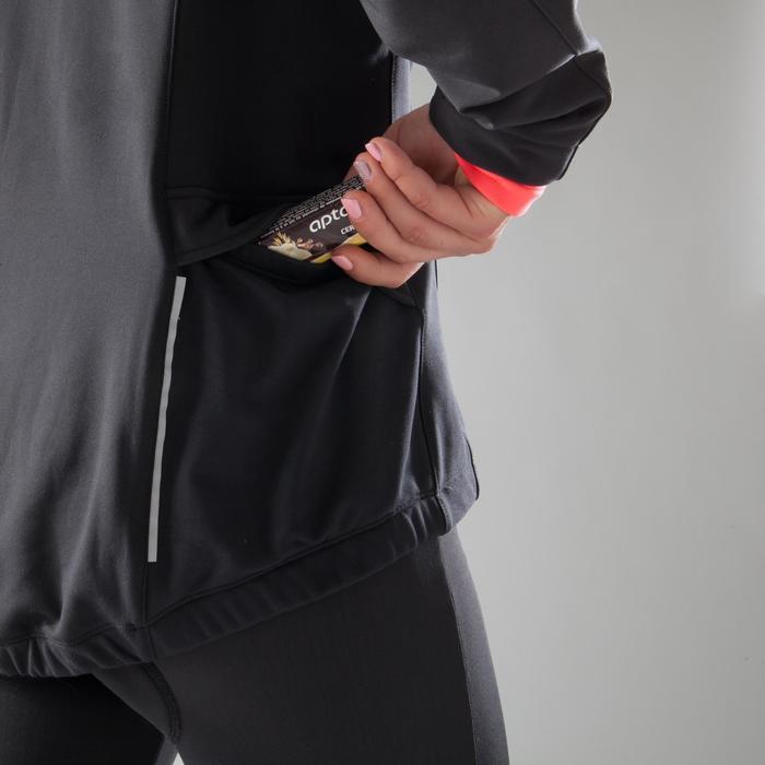 Fietsjas 100 dames zwart roze - 1225452