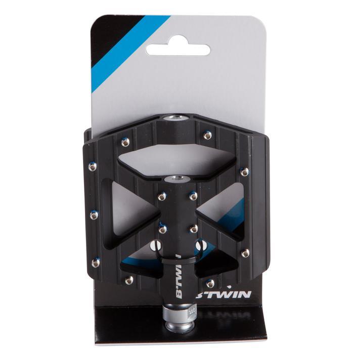 自由式登山車鋁質踏板 - 黑色