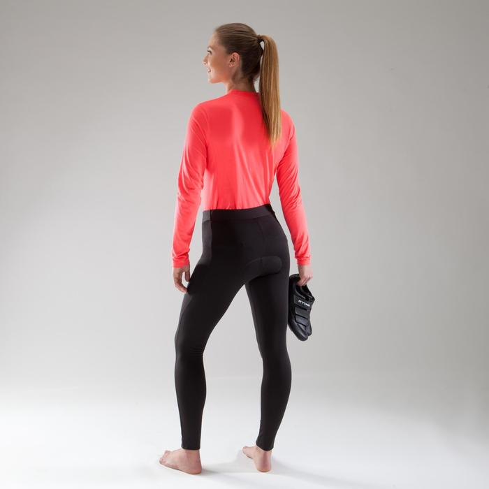 100 Women's Road Cycling Tights - Black - 1225514